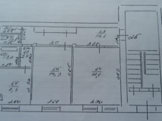 Продажа квартир: 2-комнатная квартира, Самарская область, Новокуйбышевск, Коммунистическая ул., 41, фото 1