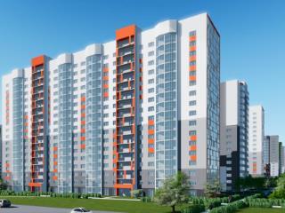 Продажа квартир: 3-комнатная квартира в новостройке, Барнаул, Взлетная ул., 97, фото 1