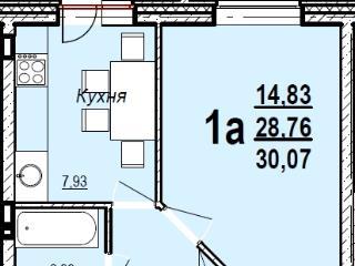 Купить 1 комнатную квартиру по адресу: Ижевск г пер Воткинский 2