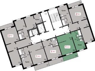 Продажа квартир: 1-комнатная квартира, Красноярск, ул. Шахтеров, 2Б/3, фото 1