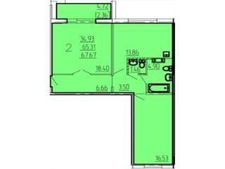 Продажа квартир: 2-комнатная квартира, Челябинская область, Магнитогорск, Лесопарковая ул., 93, фото 1