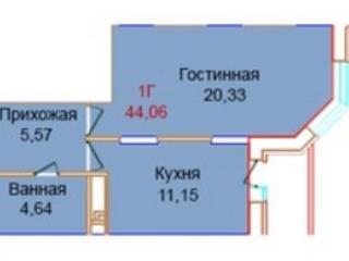 Продажа квартир: 1-комнатная квартира в новостройке, Московская область, Балашиха, Чистопольская ул., к.3, фото 1