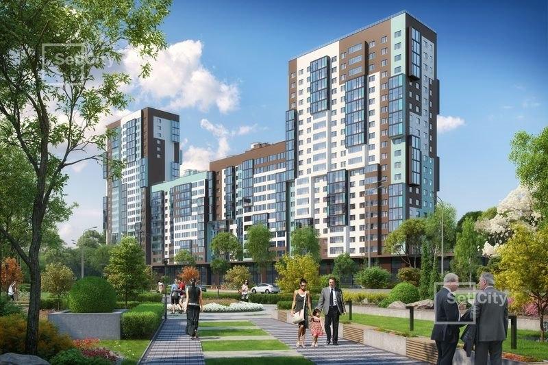 Продажа квартир: 1-комнатная квартира в новостройке, Санкт-Петербург, Комендантский пр-кт, 2, фото 1