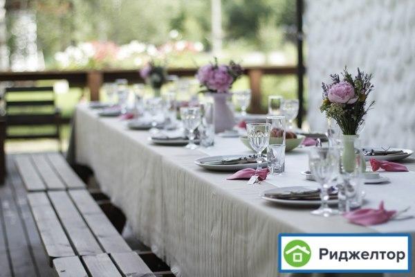 Украшение загородного дома к свадьбе своими руками