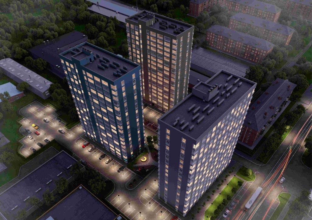 Продажа квартир: 2-комнатная квартира в новостройке, Барнаул, ул. Челюскинцев, 80в, фото 1