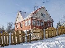 Снять дом зимой на17% дешевле, чем летом